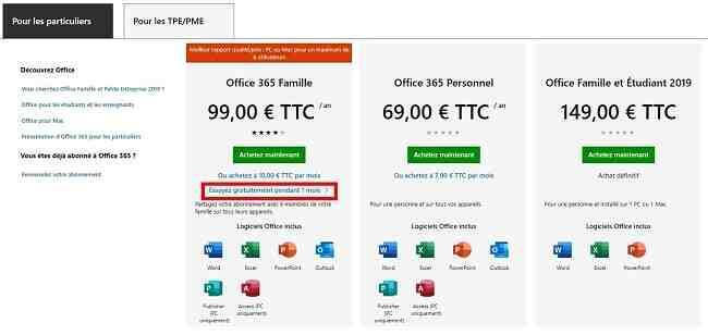 Comment fonctionne Microsoft Office gratuit ?