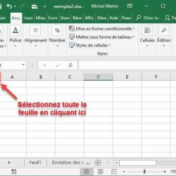 Comment insérer une formule dans une colonne Excel ?