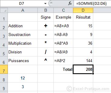 Comment mettre à jour les formules Excel ?