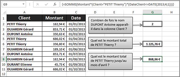 Comment remplir une colonne Excel ?