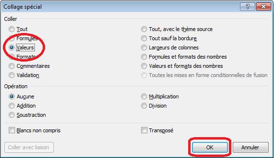 Comment soumettre un formulaire séparé à Excel ?