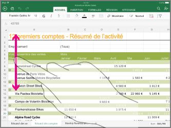 Comment tirer une cellule dans Excel ?