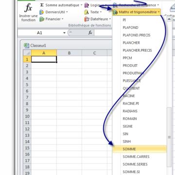 Comment tirer une formule Excel jusqu'en bas ?