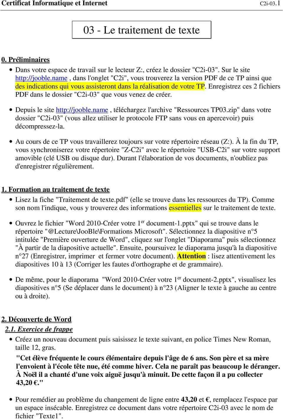 Comment traiter du texte dans un PDF Word ?