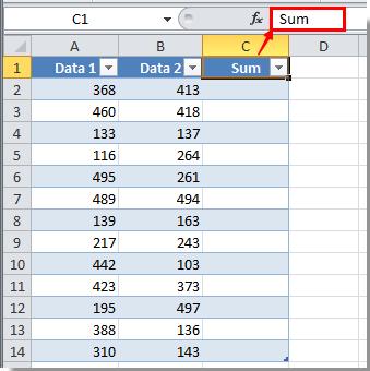 Comment utiliser des formules dans Excel ?